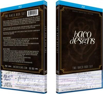 Baco box set sleeve & blu-ray case