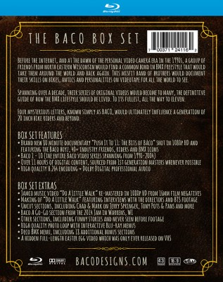 Baco box set case sleeve back
