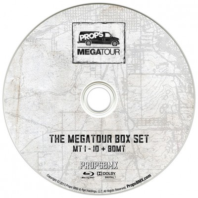Megatour Box Set dual-layer Blu-ray disc