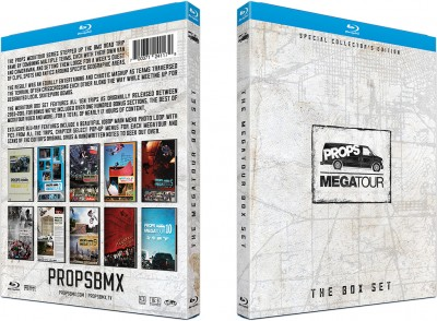 Megatour Box Set O-box Blu-ray case sleeve