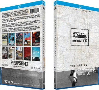 Megatour Box Set O-box Blu-ray case sleeve & case