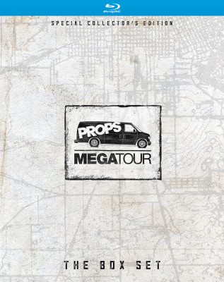 Megatour Box Set O-box front cover