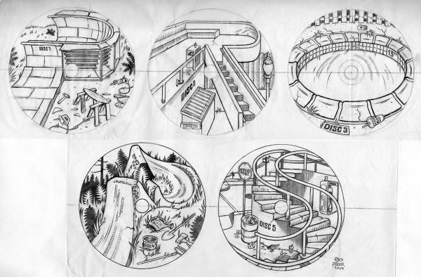 Props Box Set - Disc Sketches Spell PROPS