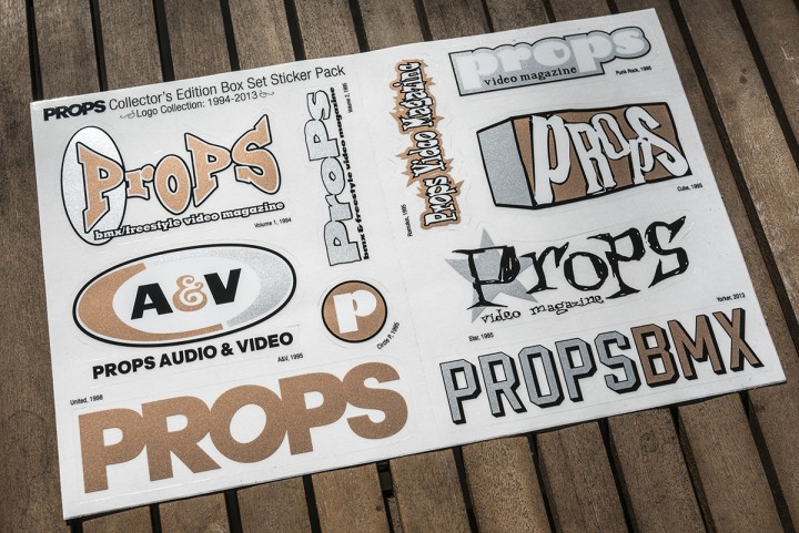 Props Box Set - Collector's Edition Sticker Sheet 11x7