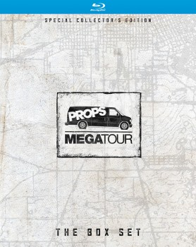 Megatour Box Set O-box front cover